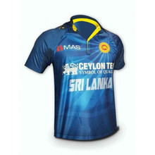 Sublimation Cricket Jersey T Shirts