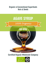 Organic Agave Syrup Sweetener