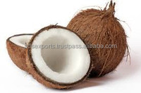 Fresh semi husked kelapa