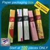Cosmetic box, Custom design, Product box, High quality