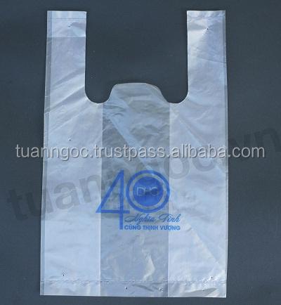 Logo printed t shirt plastic bag customized plastic bag for Custom plastic t shirt bags