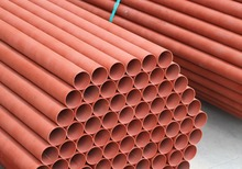 Colour Coated Pipes - Round, Square, Rectangular (Red and Blue)