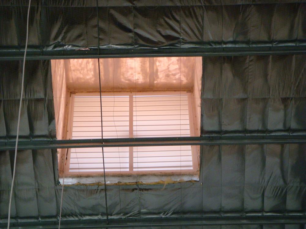 Fiberglass Hood Industrial Roof Vent Adjustable Louver