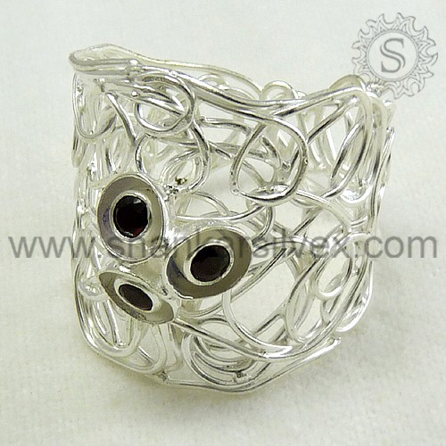 925 sterling silver gemstone rings wholesale supplier and