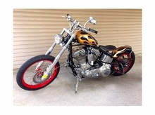 Used Custom Choppers 1650cc Motorcycle Black