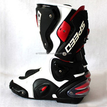 HIGH QUALITY LEATHER MOTORBIKE SHOES, Speed Up Shoes, RACING LEATHER MOTORBIKE SHOES