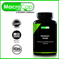 HMB Capsules Bottled Private Label GMP