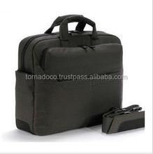 Black PVC Laptop Bag Briefcase