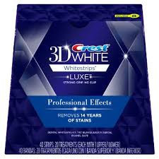 For New Crest 3D Whitestrips Professional Effects Teeth Whitening