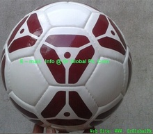 Machine Stitched Football soccer ball logo could be printed 2015 Latest football number for famous player