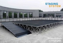 Aluminum stage/ portable folding stage/ modular stage