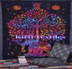 KT-552 indian mandala tapestry wall hanging New Indian Cotton home decor tapestry ethanic wall & home decor decorative tapestry