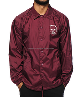 Coach Jackets, custom made coach jackets Custom Nylon Coach Jackets With Custom Printed Logos On Front And Back/At Berg