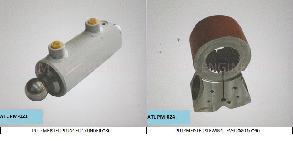 For Putzmeister Concrete Pump Spare Parts Cauldron Outlet