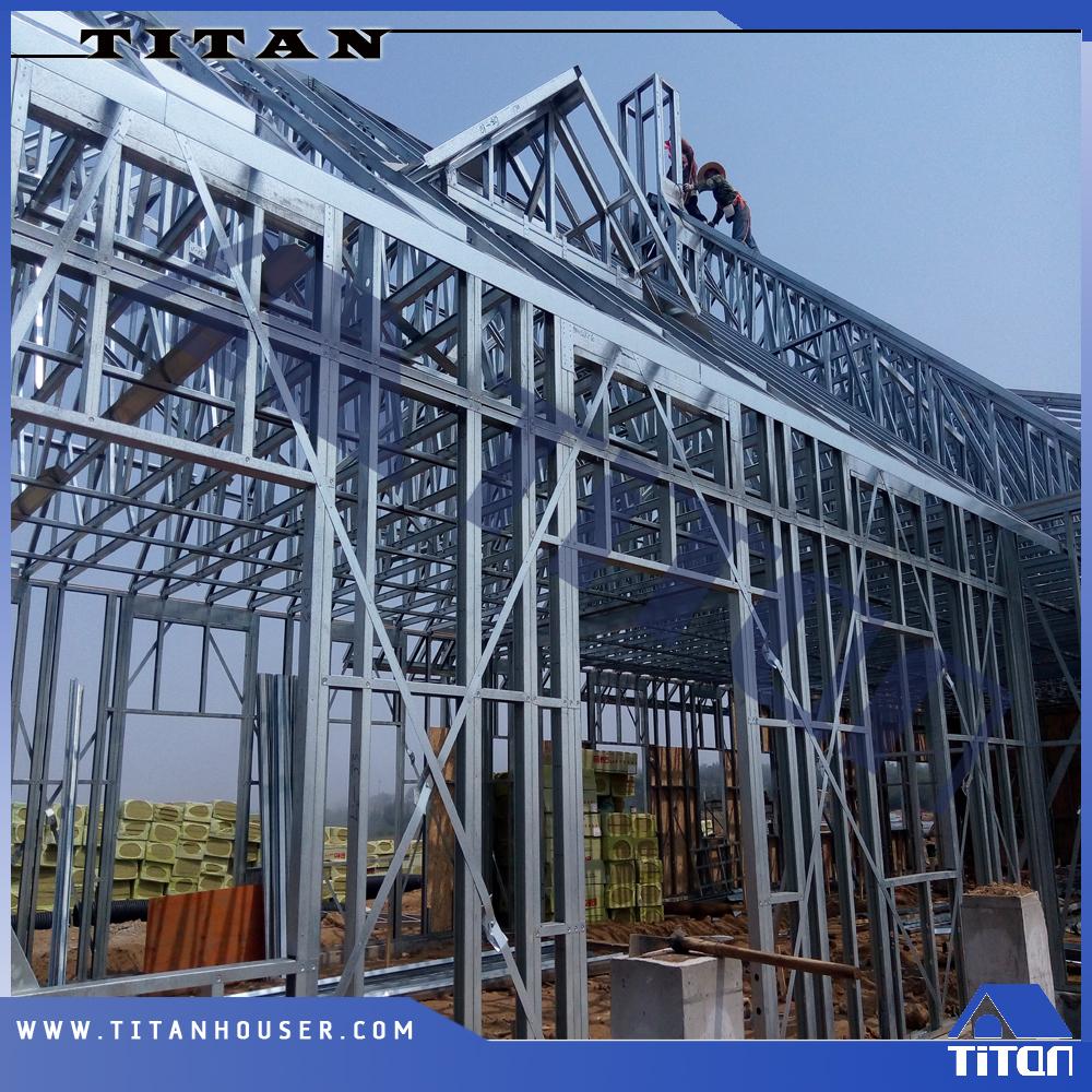 Customized Sizes Light Steel Wall Stud Framing - Buy Wall Stud ...
