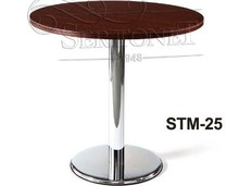 modern long and round bar table