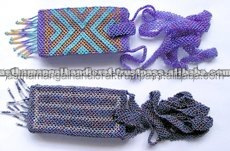 Glass Beads Mobil phone bag