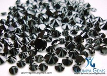 Natural Loose Black Diamonds 0.01 mm to 5.00 mm Sizes Pracel .