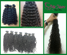 Top Grade 7A 100% unprocessed hair Vietnam virgin hair no shedding no chemical