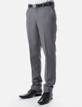 Men Poly Rayon Office Business Trousers/Formal Suits Trousers For Men