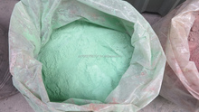 Reclaimed waste powder coating materials recycled electrostatic thermoset powder surplus aged overspray post industrial