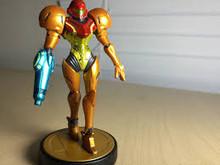 Nintendo Samus Amiibo Figure