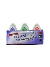 Gel Air Fresheners, Pack Of 3