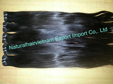 Natural balck straight hair and body wave hair/ Vietnam raw remy virgin human hair bulk