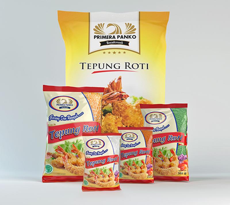 White Crumbs Halal Breadcrumb From Indonesia (primera Panko)