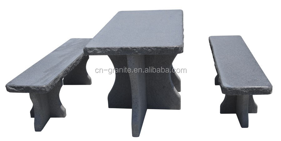 ... Gray Stone Garden Benches And Tables For Sale ...