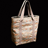 Gold brocade high class direct sales tote bags made in Nishijin of Japan