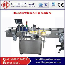 Round Bottle Labeling Machine With Most Standard Features And Specification