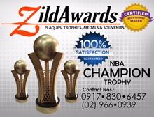 NBA Champion Basketball Trophy