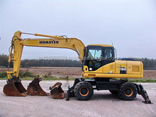 USED MACHINERIES - KOMATSU PW180-7 WHEEL EXCAVATOR (5801)