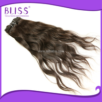 Beautiful indian remy jerry curl hair weave