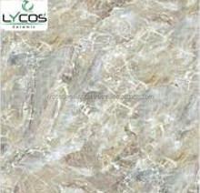 glazed ceramics living room wood design floor tile,Polished Porcelain Double Loading Tile ex-49