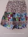 2015 con estilo Kid niñas falda de algodón con patrón de moda impresa desgaste del verano/falda del tutú del bebé