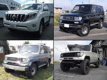 Low cost and High quality used toyota prado diesel at reasonable prices long lasting