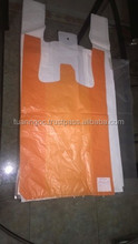 HDPE recyclable plastic laundry t shirt bag,polythene bag whole sale