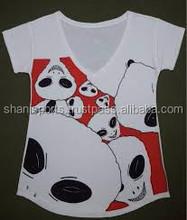 2014 Custom printing men's T-shirt ,100% Cotton v neck t shirts , silk screen Print t shirts men, Bulk item from Pakistan