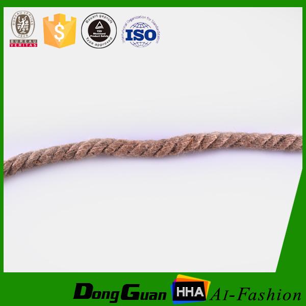 3 strand 100% juta natural corda de cânhamo com preço competitivo