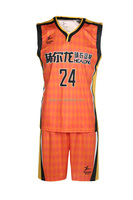 100% Polyester Plus Size basketball shooting shirts high quality jersey basketball jerseys