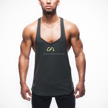 Mens Fitted GYM Singlet