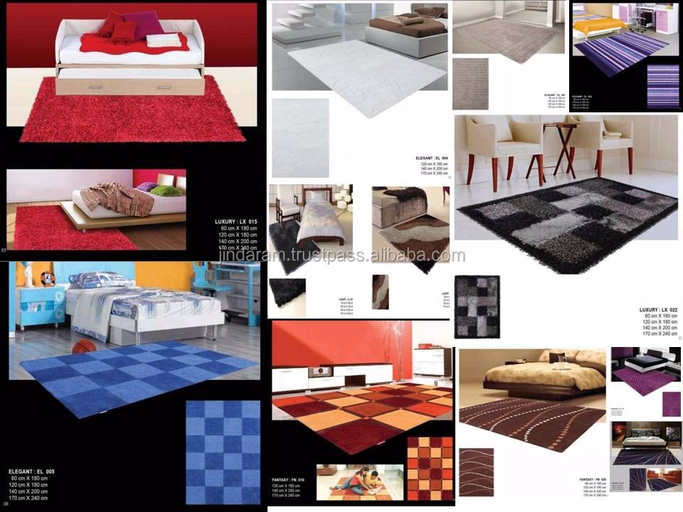 Soft thin polysilk useful carpet collection for homes and hotels.JPG