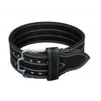 custom leather gym belts