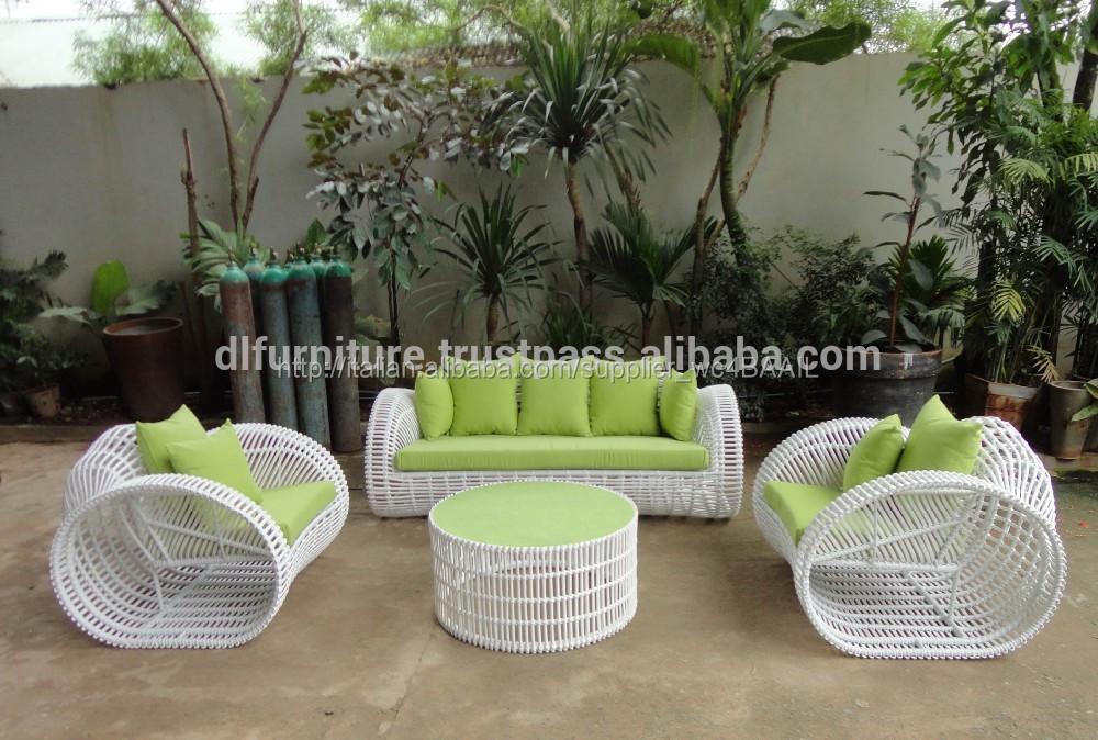 Rattan nuovi poli gruppo sedie giardino esterno di set for Mobili esterno economici