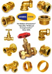 Brass Compression Fittings EN1254-2 Imperial / Metric