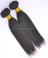 Wholesale soft hair products cheap hair 6A/7A dyeable natural color straight 100% unprocessed virgin brazilian hair