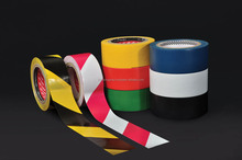 Long Lasting Color Coding Floor Marking Tape with Strong Rubber Adhesive