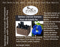 Bamboo Charcoal Shampoo Mixed with Butterfly Pea